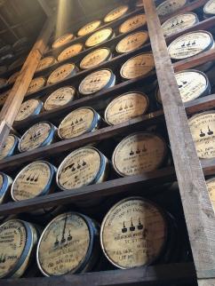 Bourbon barils